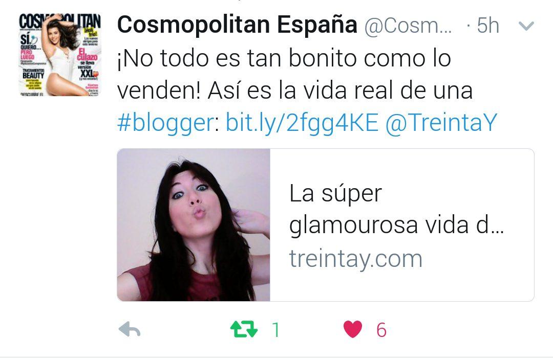 mencion tweet cosmopolitan blogger
