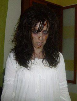 disfraz-casero-niña-del-exorcista