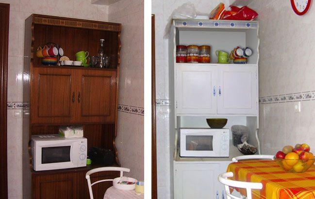 Renovar un piso de alquiler con bajo presupuesto for Mueble estrecho cocina