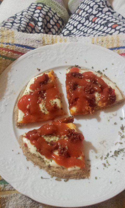 Una cutre-pizza para pájaros (glotones)