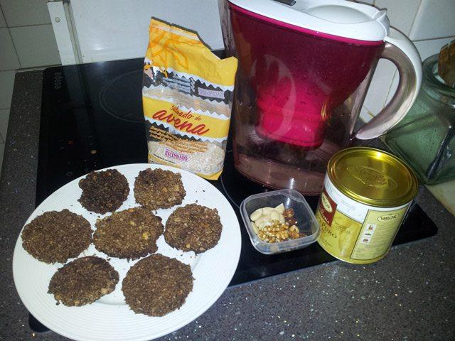Como hacer (algo parecido) a galletas de avena sin horno