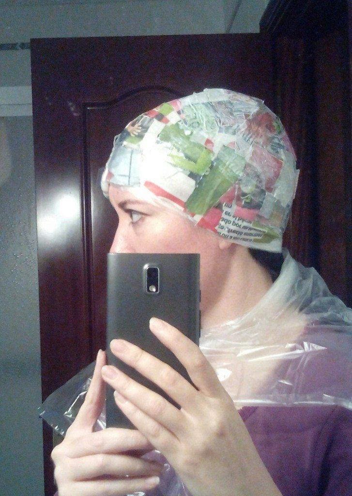 hacer un casco para disfraz casero