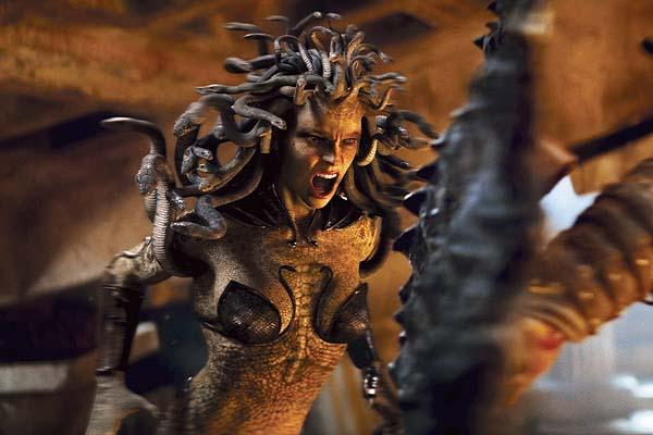Medusa, en la película Clash of Titans