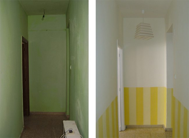 C mo pintar un pasillo oscuro para que sea m s luminoso for Como decorar un pasillo estrecho