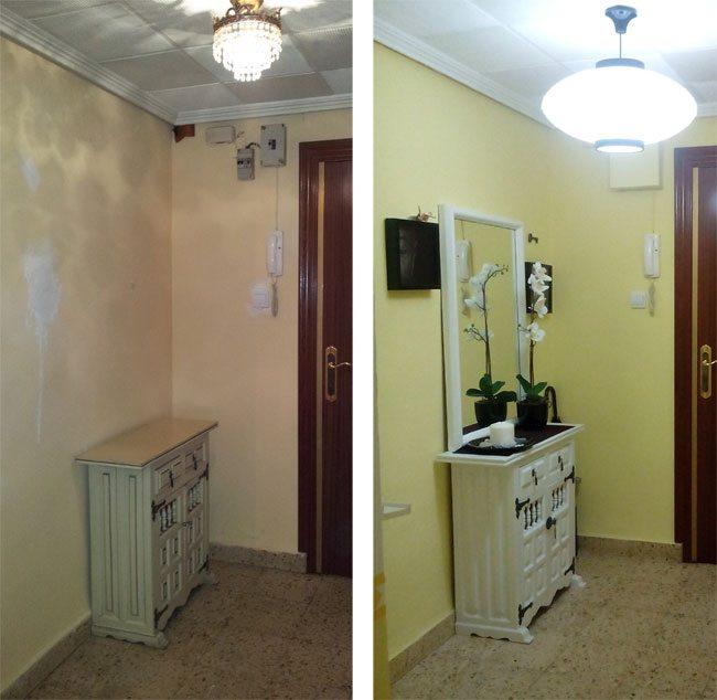 Recibidores para pasillos estrechos si cuentas con un - Alfombras para recibidores ...