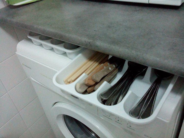 Reformar la cocina con poco dinero treinta y diario - Almacenaje de cocina ...