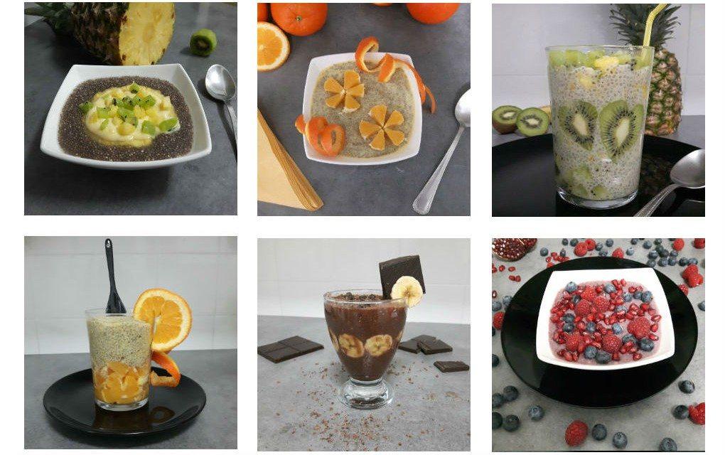 Healthy breakfasts guachis