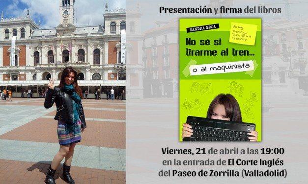 Presentación y firma de libros en Valladolid