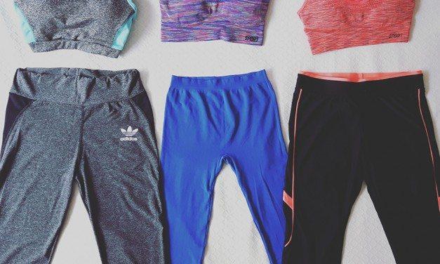 Chica fitness… de mercadillo