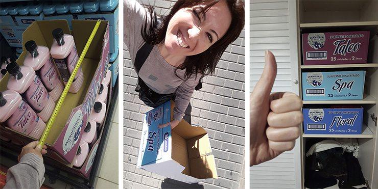 Robando cajas en los supermercados