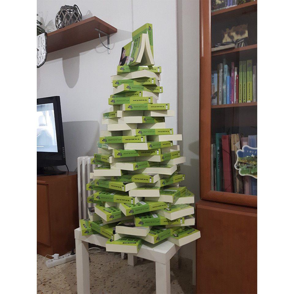 Rbol de navidad treinta y diario de una treinta era - Arbol de navidad con libros ...