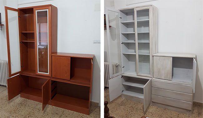 Pintar un mueble con aspecto envejecido versi n para for Muebles pintados a la tiza