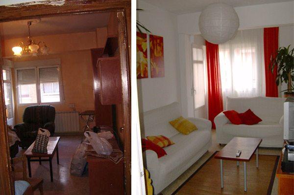 Renovar un piso de alquiler con bajo presupuesto - Como amueblar un piso con poco dinero ...