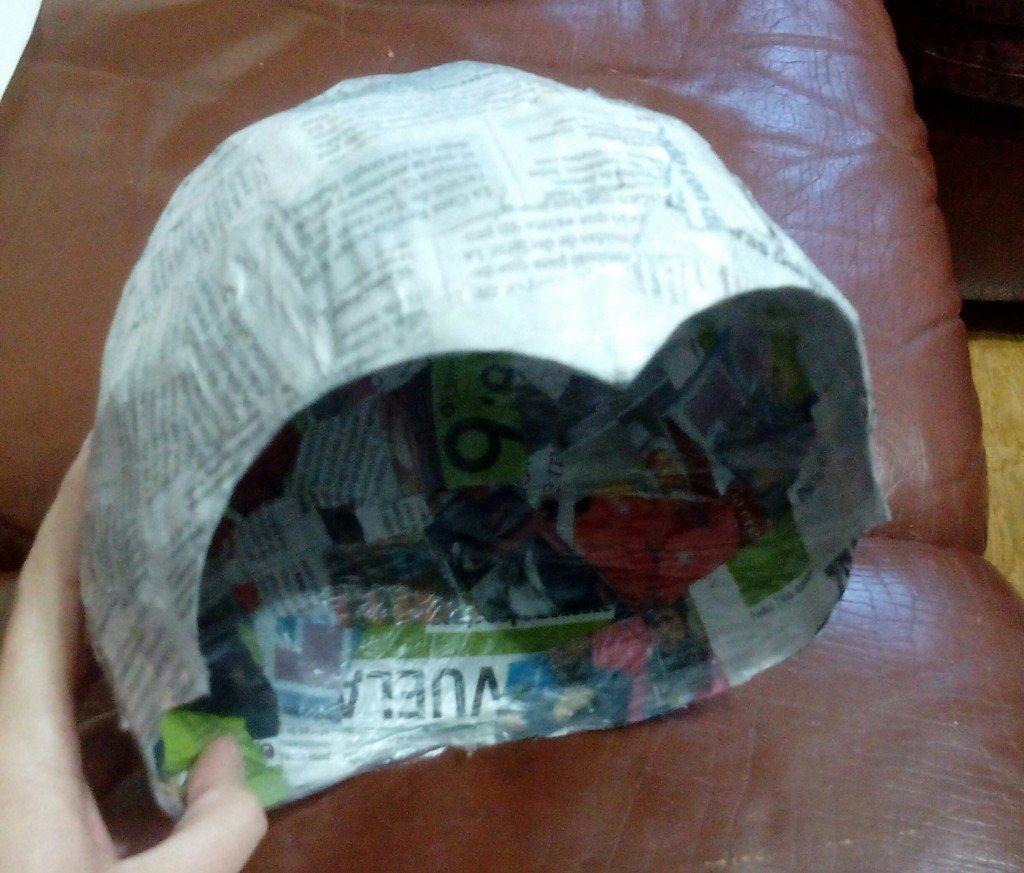 como hacer un casco diy