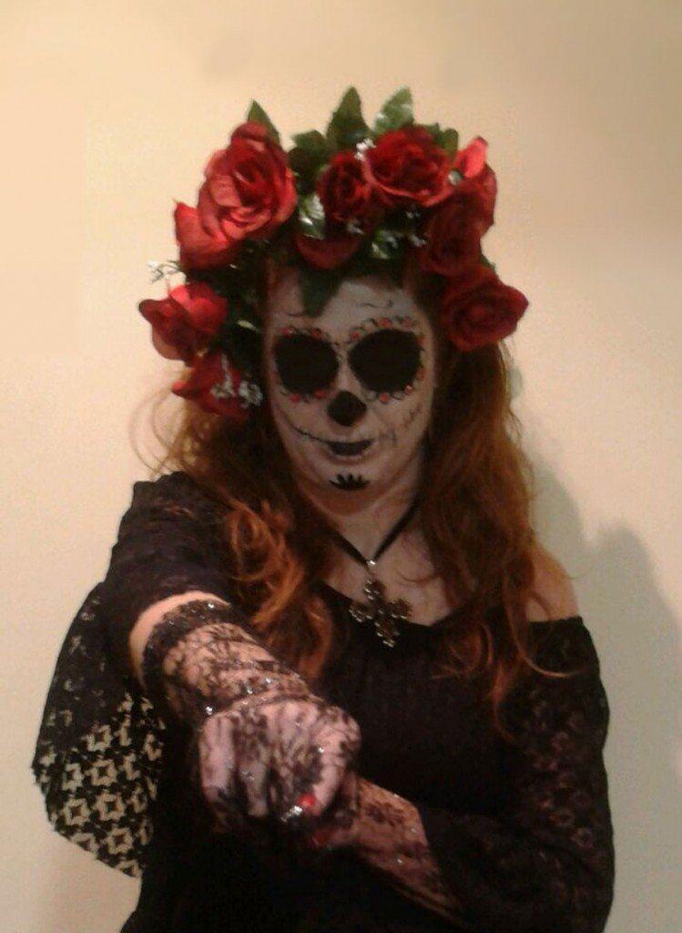 disfraz de muerte-mexicana