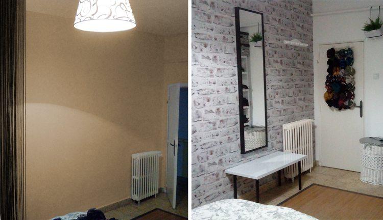 Renovar una habitaci n ganando almacenaje - Decoracion de casas antes y despues ...