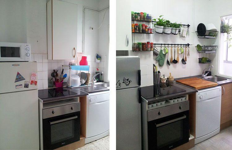 Reformar la cocina con poco dinero - Treinta y ... Diario de ...
