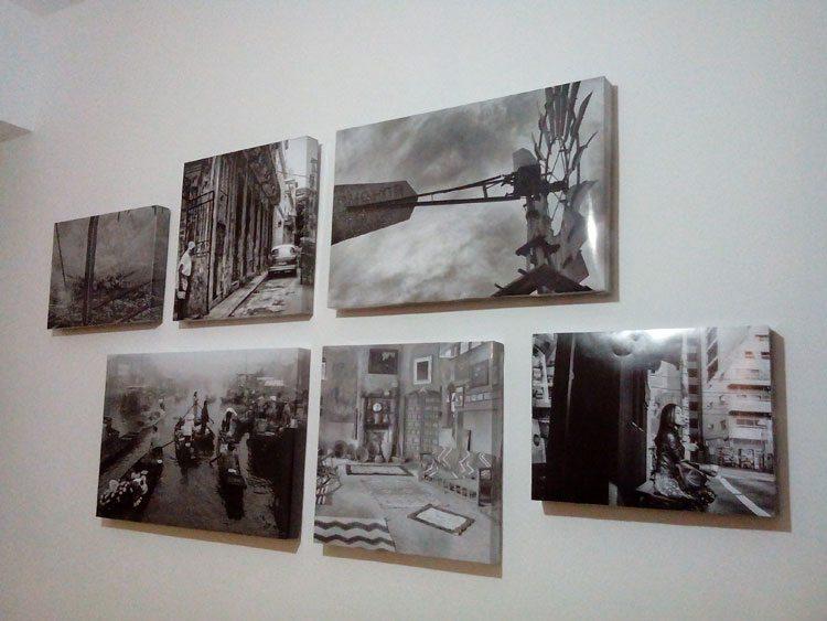 Enmarcar Fotos Como Lienzos Treinta Y Diario De Una