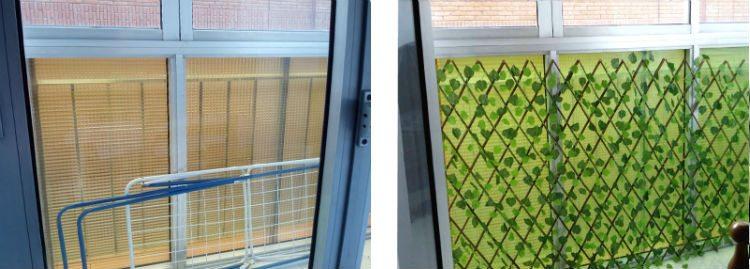 terraza antes y despues