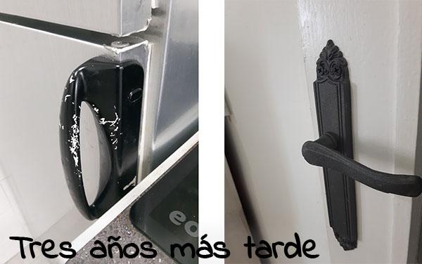 Resultados de pintar manillas de puertas despu s de unos - Manillas de forja ...