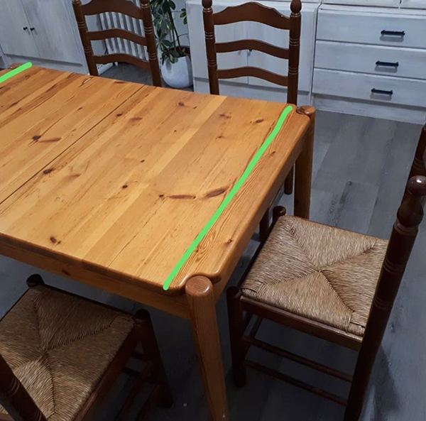 Renovar una mesa de comedor - Treinta y ... Diario de una treintañera
